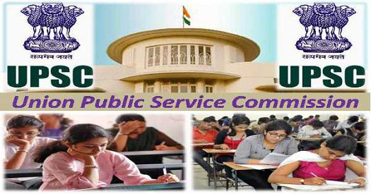 UPSC Recruitment Advt 15 2017