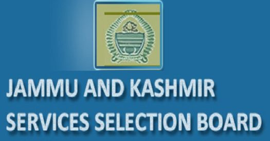 Jammu and Kashmir Services Selection Board Results