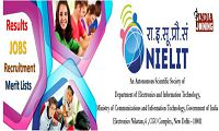 NIELIT Recruitment Latest List