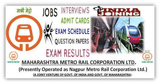 MAHA-Metro Vacancies