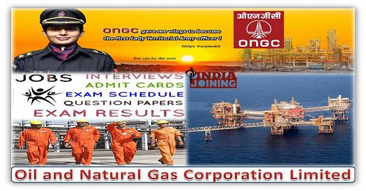 Oil and Natural Gas Corporation Recruitment And Results