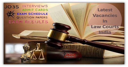 Jharkhand Court Vacancy Latest List